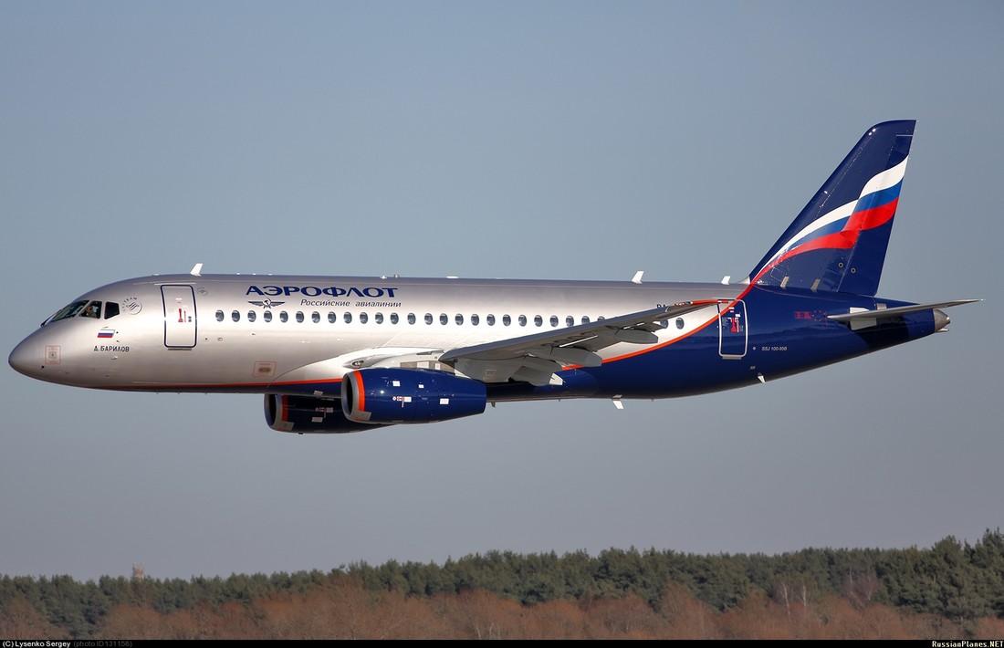АТОР: «Суперджеты» практически не задействованы на чартерных рейсах