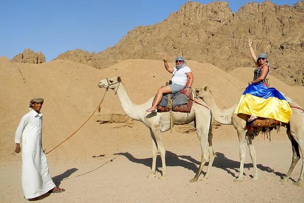 Украинские туристы заняли 2 место во въездном турпотоке в Египет