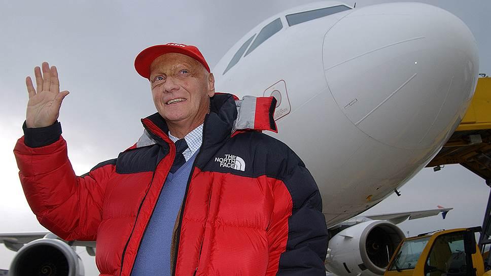 Скончался владелец а/к «Air Lauda» и «Nicky Airlines», трехкратный чемпион Формулы-1