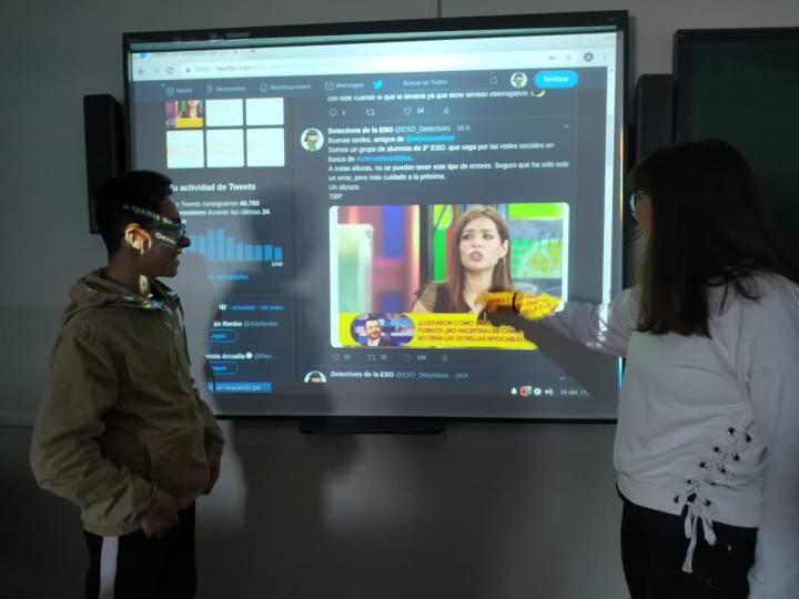 Школьники из региона Эстремадура создали группу для отслеживания орфографических ошибок в Twitter