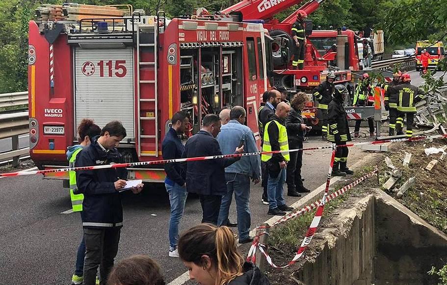 В аварии в Италии пострадали 60 туристов, предположительно россиян