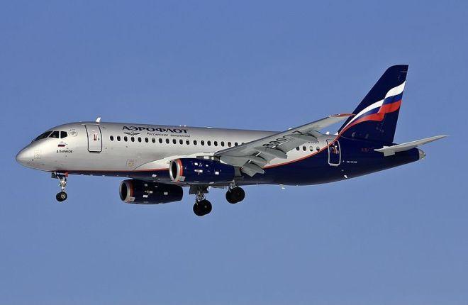 SSJ-100 прервал рейс и вернулся в Шереметьево
