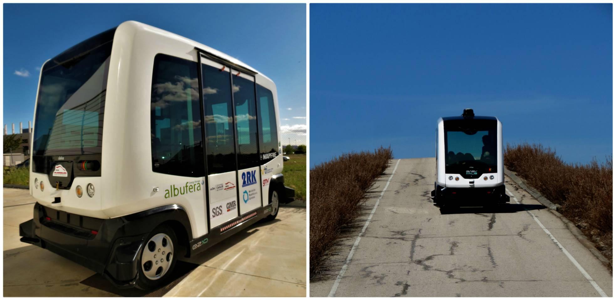 Автобус без водителя будет возить гостей по национальному парку на острове Лансароте