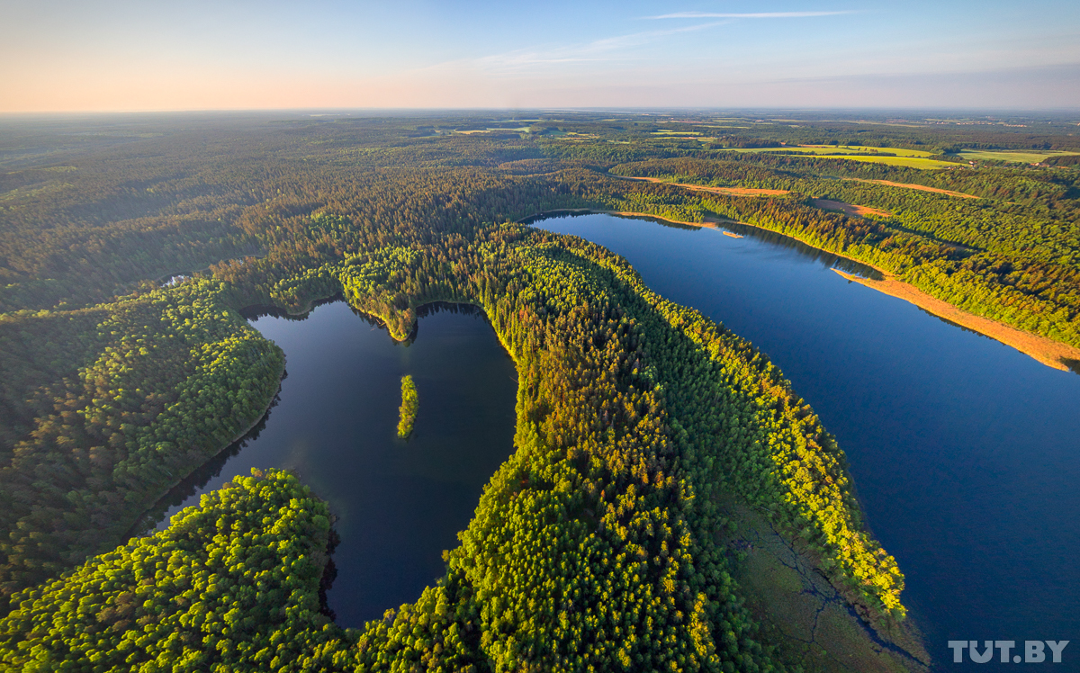 Лучшие места для спасения в жару. 15 невероятно красивых, охлаждающих фото белорусской природы