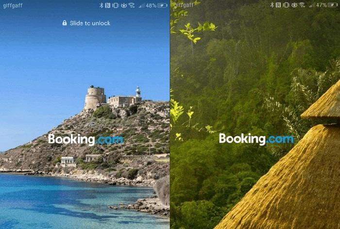 Huawei убрала навязчивую реклама Booking.com с экрана блокировки своих смартфонов в России