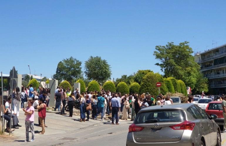 Землетрясение в Афинах напугало туристов
