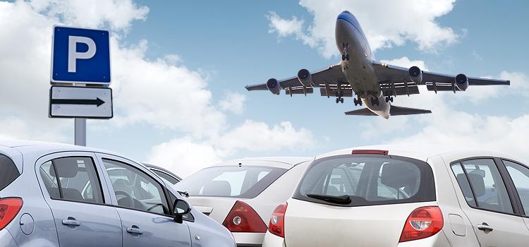 Удобная парковка возле аэропорта