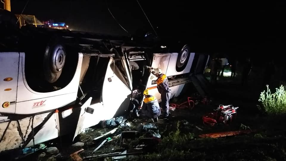 Автобус вылетел в кювет: погибли шесть российских туристов