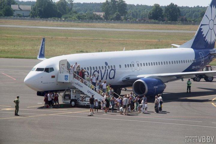 Рейс до Туниса пользуется спросом у брестчан