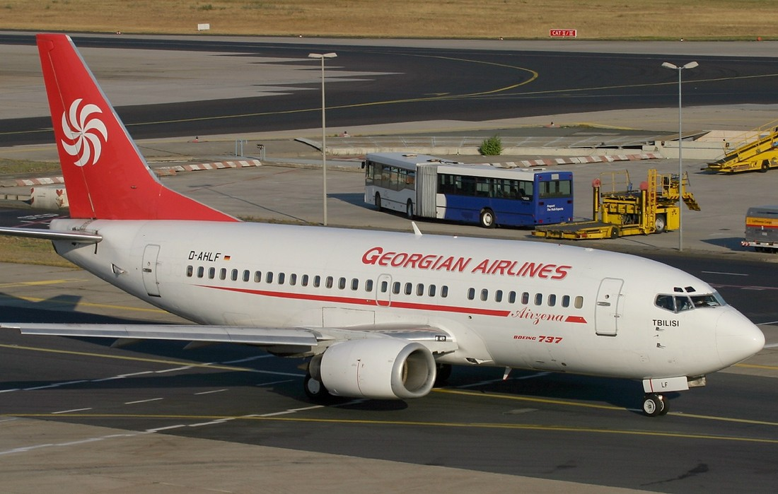 Грузия выделяет €1,2 млн для субсидирования транзитных авиарейсы из России