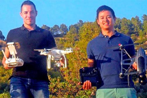 Инженер из региона Валенсия разрабатывает дроны для контроля и предотвращения лесных пожаров