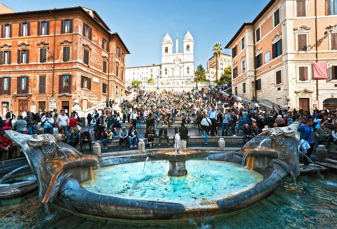 Италия опередила Францию в качестве популярного туристического направления