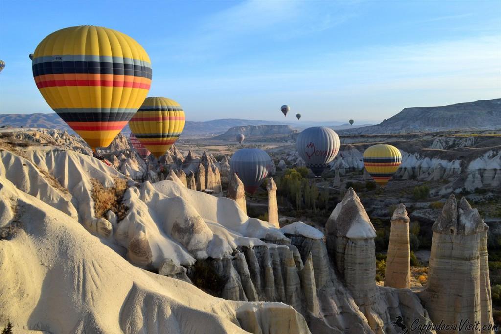Число туристов в Каппадокии выросло на 71%