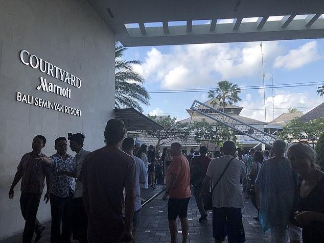 Землетрясение на Бали: туристы эвакуированы из отелей