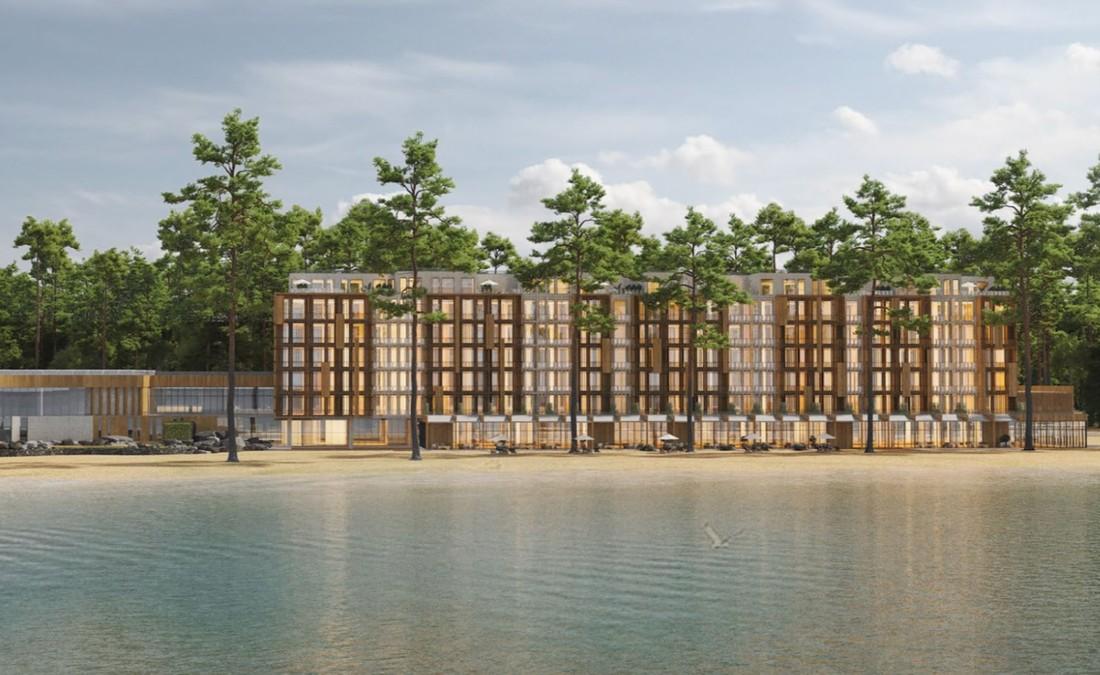 На Байкале построят 4* гостиничный комплекс Green Flow Байкал
