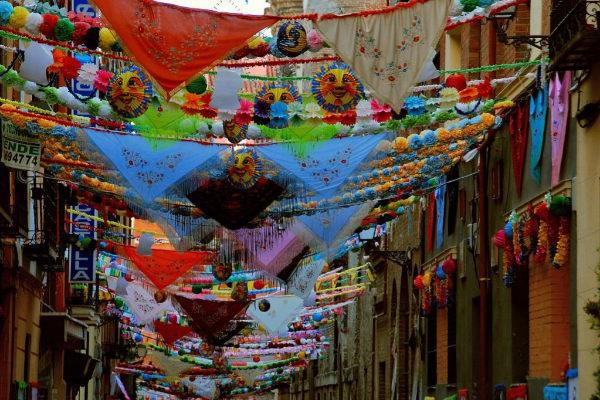 Август - месяц традиционных праздников в Мадриде