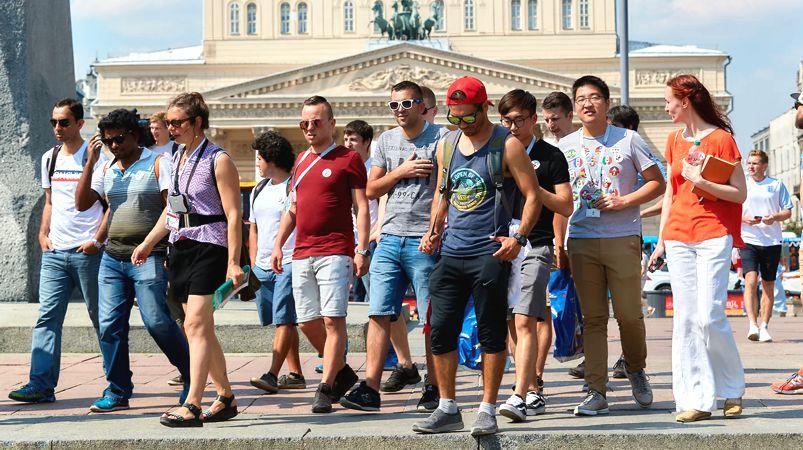 Власти Москвы составили портрет «типичного туриста»