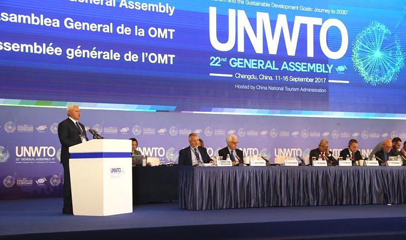На Генассамблее UNWTO в Питере попытаются раскрыть «глобальную повестку туристической отрасли»