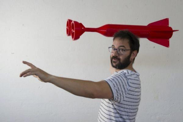 Видеоблогер из Страны Басков удивляет своих подписчиков объектами, созданными на 3D-принтере