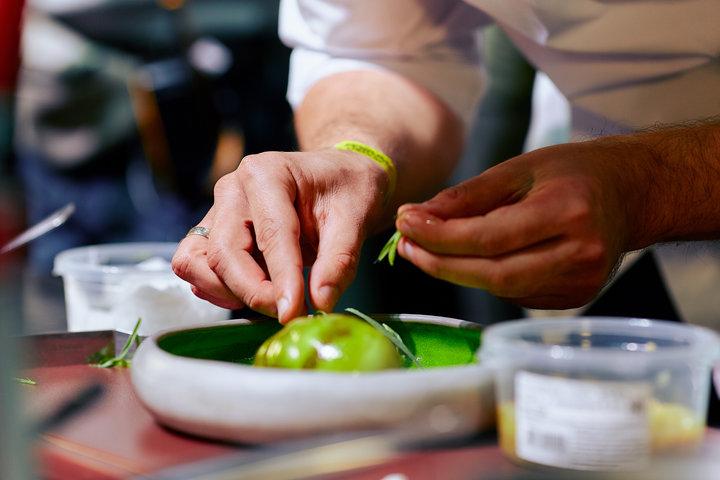Фото: из архива Forum.chefs.by. Выступление шеф-поваров в Минске