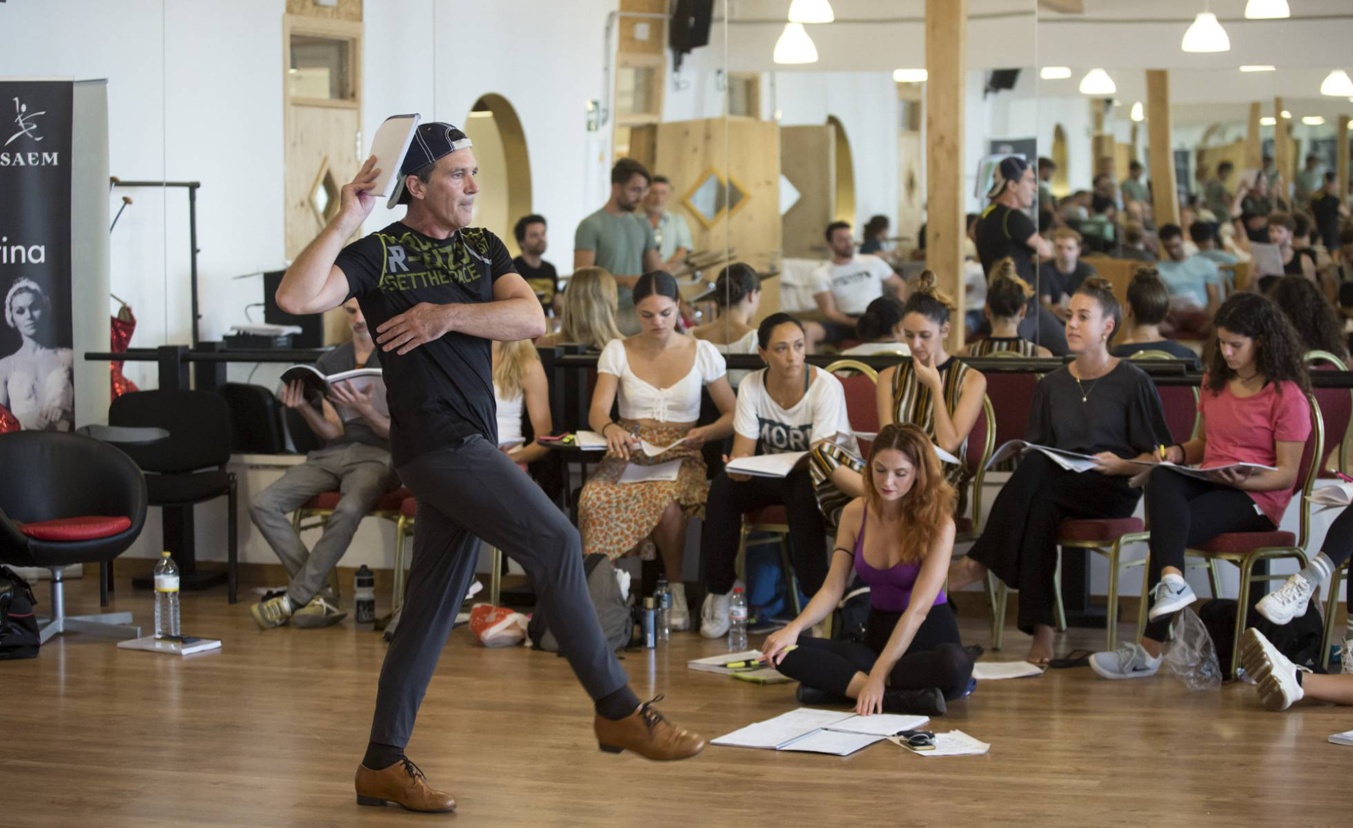 Антонио Бандерас привез дух Бродвея в Малагу