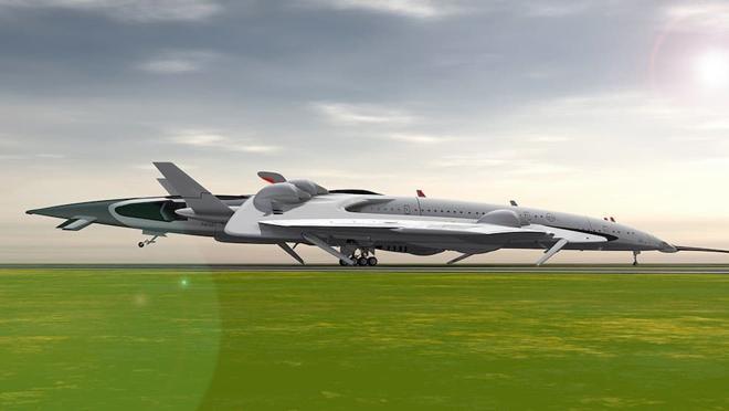 Испанский самолет будущего сможет долететь из Лондона в Нью-Йорк за 2 часа