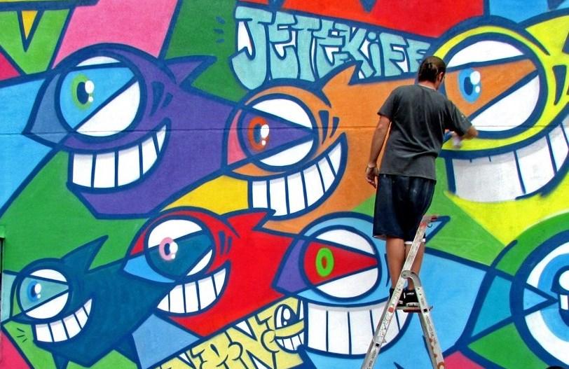 Мобильное приложение для знакомства с миром граффити на улицах Барселоны