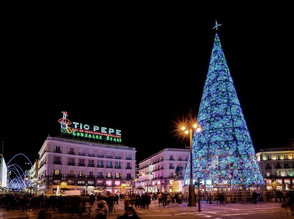 Мадрид включит праздничное освещение 22 ноября