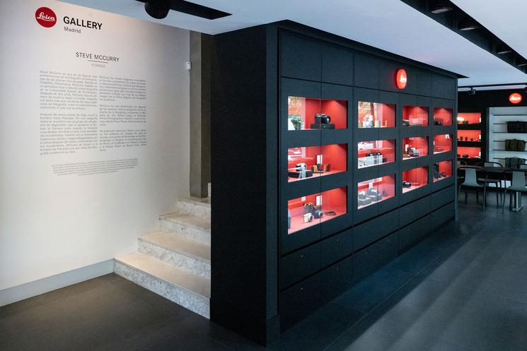 Магазин немецкой марки Leica в Мадриде удивляет творческим  пространством для любителей фотографии