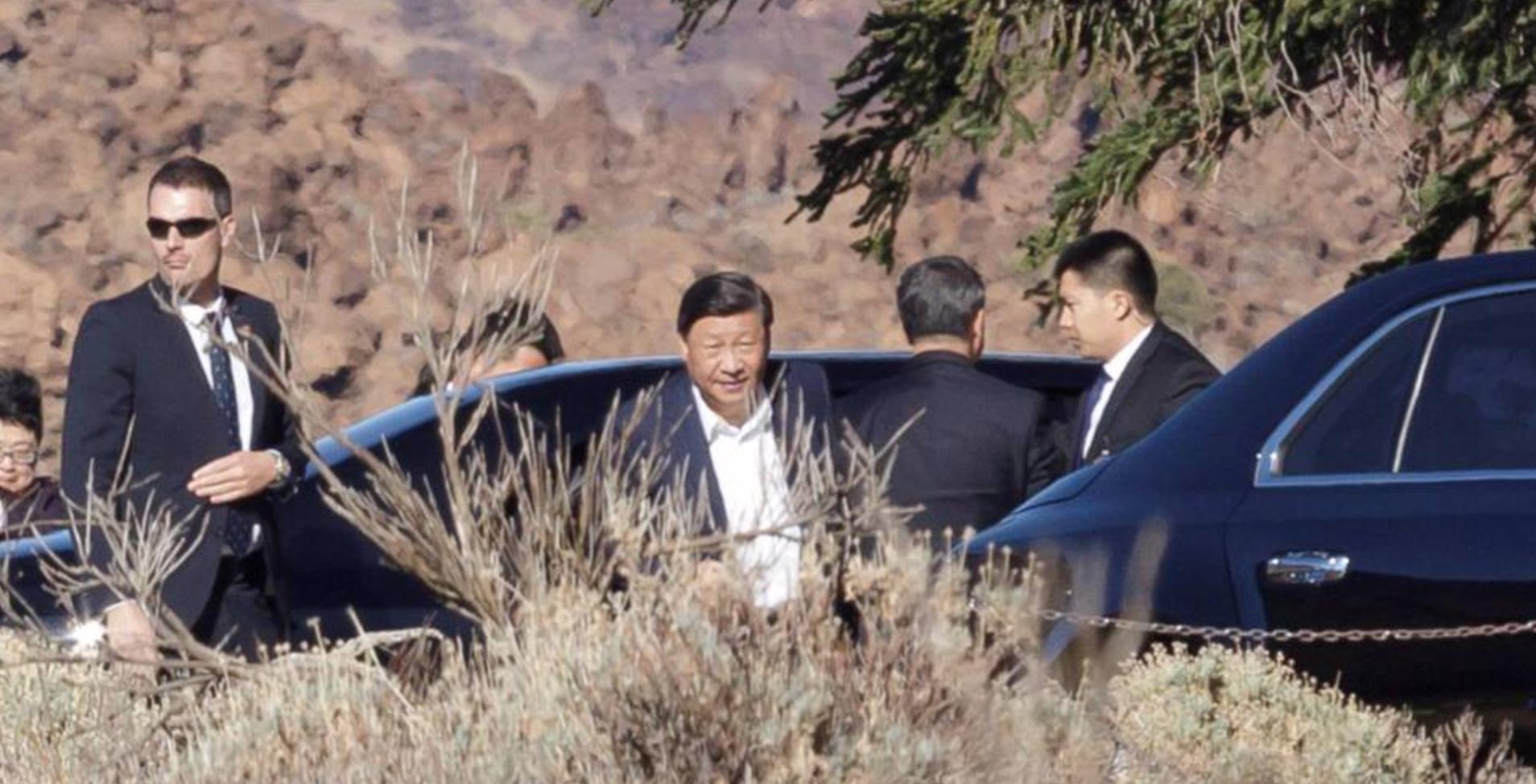 Глава Китая Си Цзиньпин остановился на острове Тенерифе