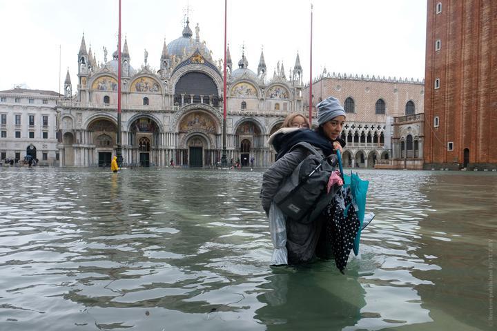 Венеция на 85% - под водой. Как белорусские туристы пережили потоп