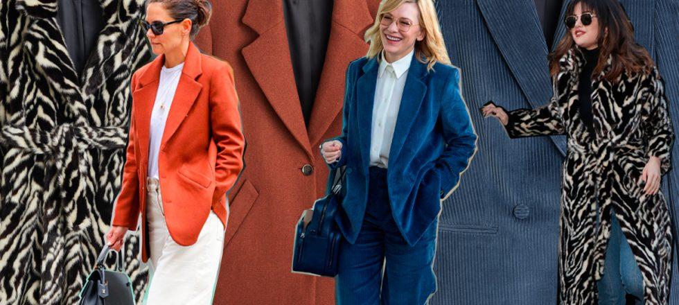 От Кейт Бланшет до Кэти Холмс: звезды, которые выбирают марку Mango