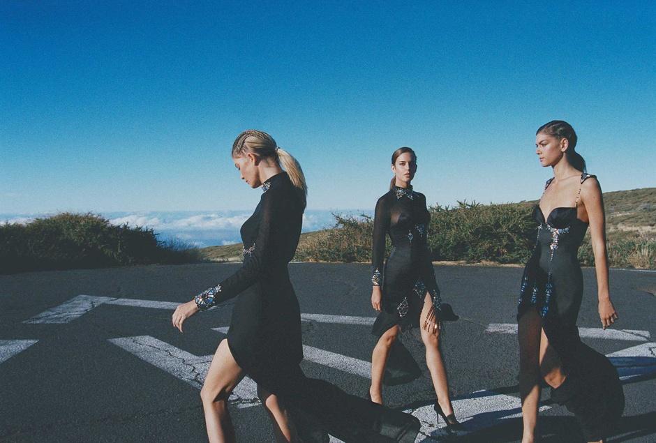 Новая коллекция одежды дизайнера с Канарских островов, вдохновленная его родным краем