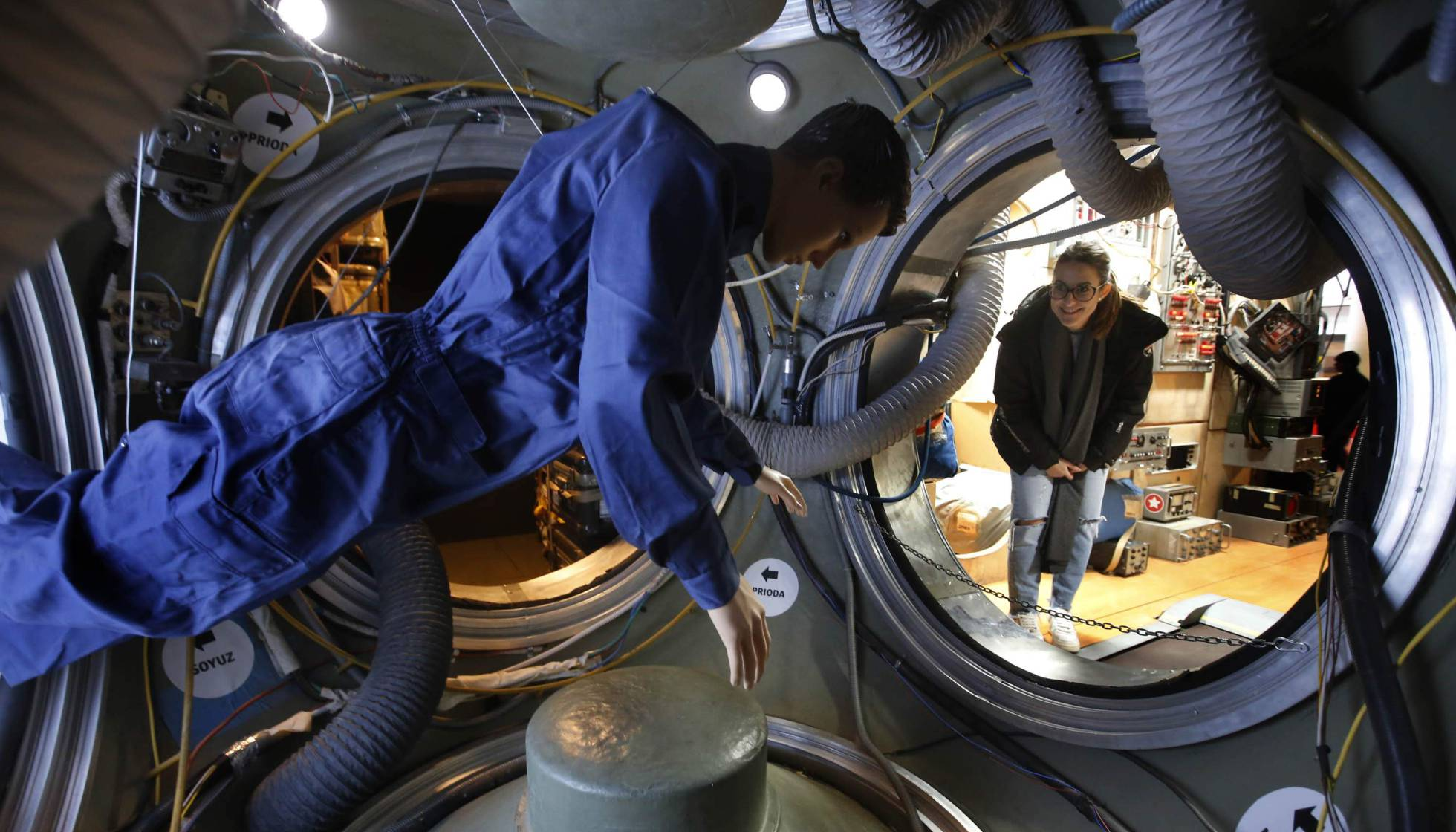 Почувствовать себя космонавтом можно в городе Терраса провинции Барселона