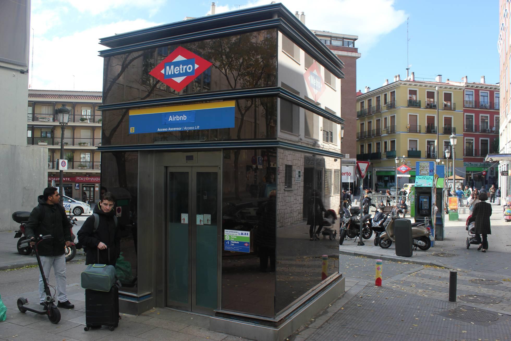 Добро пожаловать на станцию метро  Airbnb в Мадриде