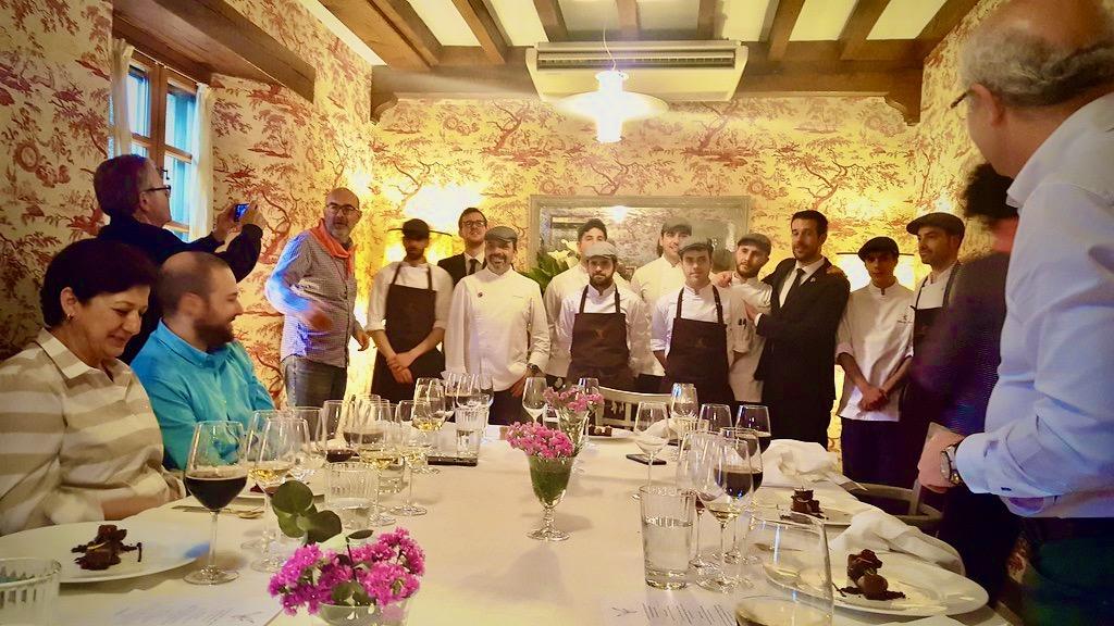 В Испании появился новый ресторан 3* Мишлен