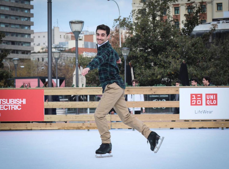 Двукратный чемпион мира по фигурному катанию Хавьер Фернандес стал амбассадором модного японского бренда Uniclo