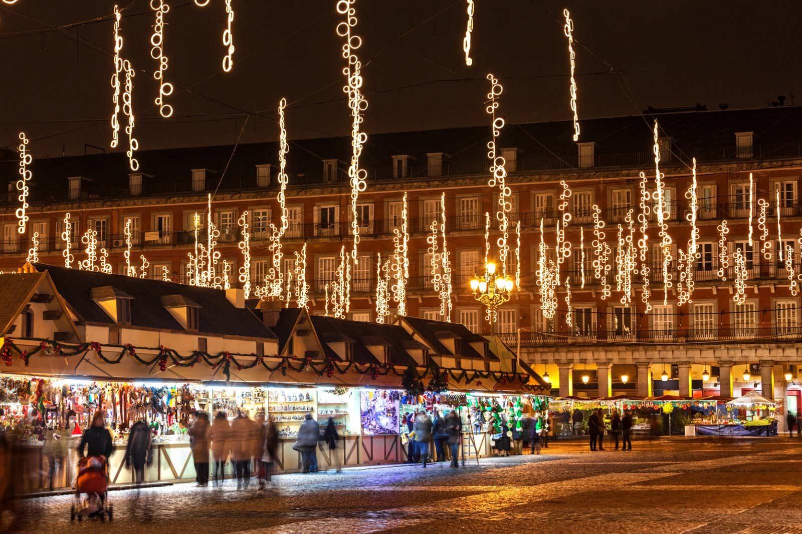 5 лучших рождественских рынков в Испании