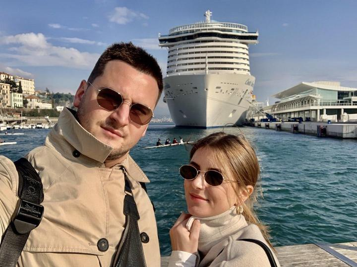 В Италии заблокировали круизный лайнер, туристку проверяют на коронавирус. Там - семья белорусов