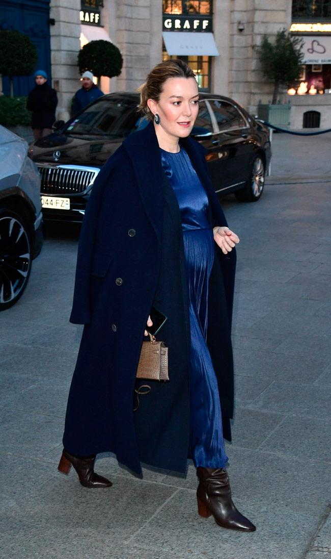 Марта Ортега в Zara появилась на Неделе высокой моды в Париже