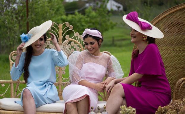 Модные шляпы из Страны Басков становятся очень популярными на испанских свадьбах
