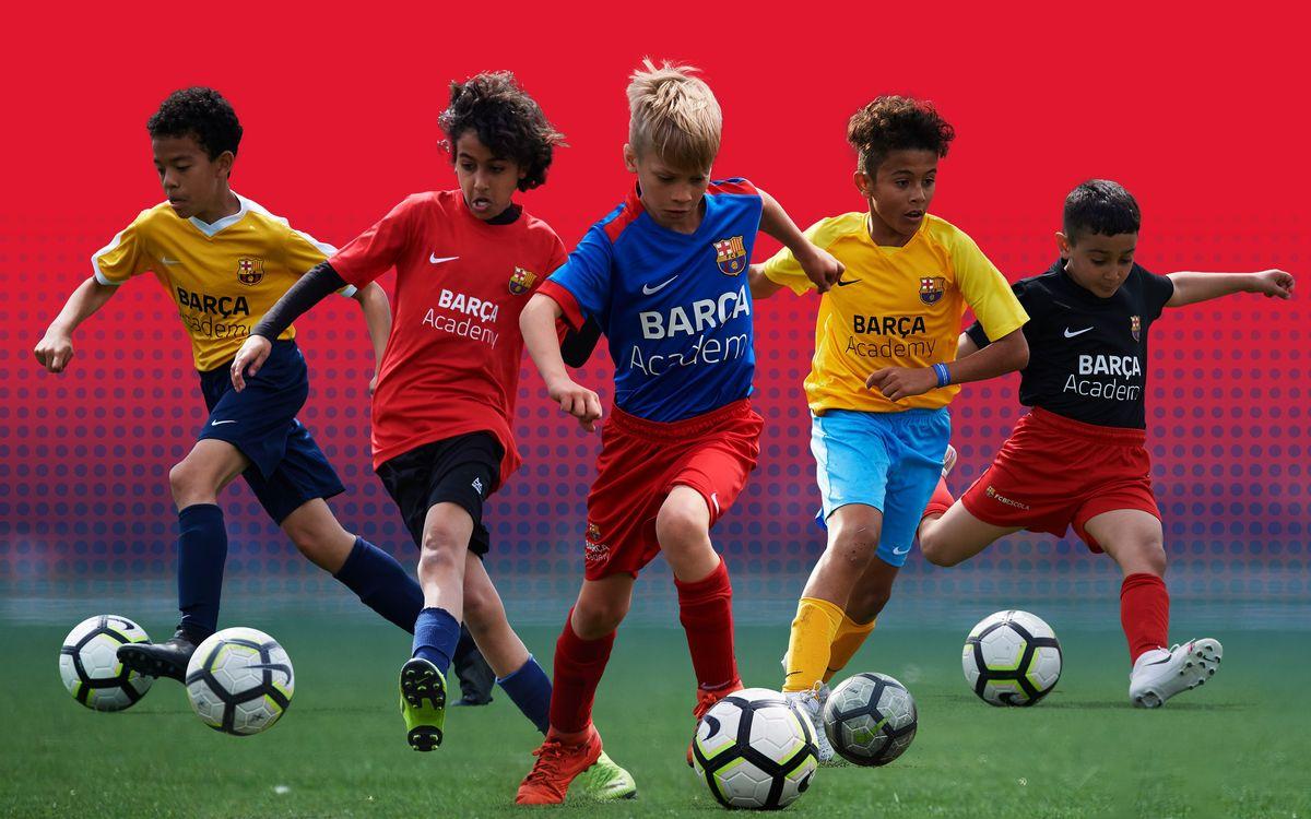 Футбольная школа Barça Academy проводит пробы для детей 2009-2014 г/р.