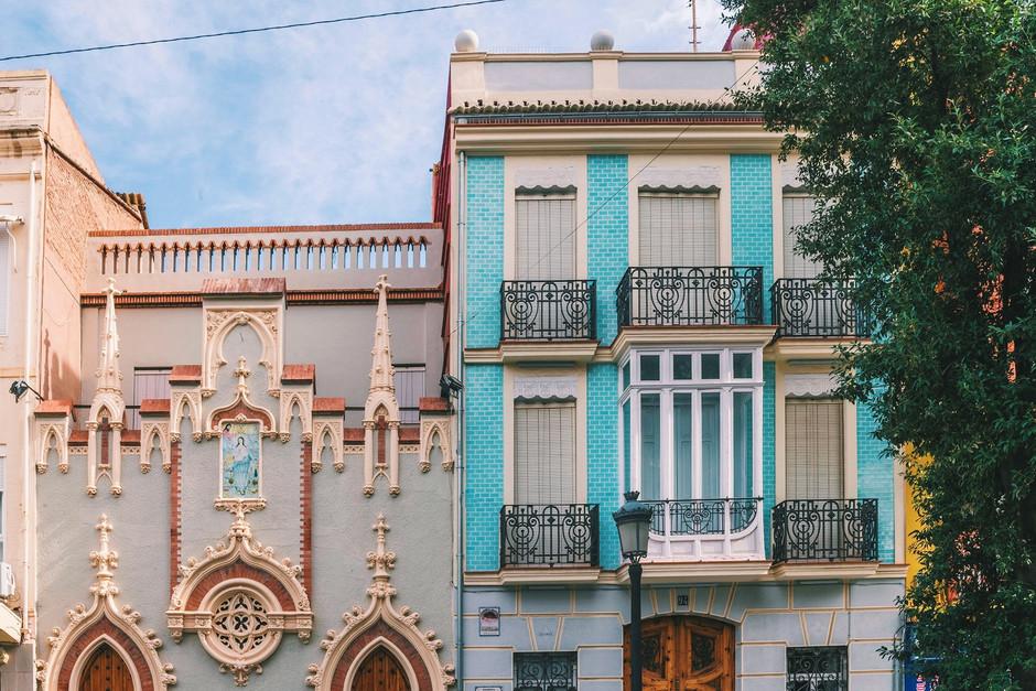 Район Кабаньяль – самый колоритный район города Валенсия
