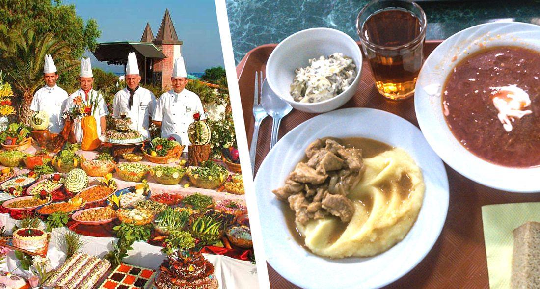В отелях Турции вместо шведского стола на All inclusive будет комплексное меню