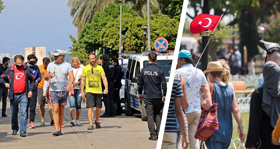 400 российских туристов, застрявших в Турции, устроили бунт у консульства РФ в Анталии