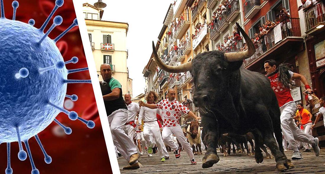 Фестиваль забега с быками Сан-Фермин в Испании отменён из-за коронавируса