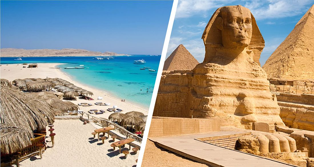 На всех курортах Египта установилась летняя комфортная погода