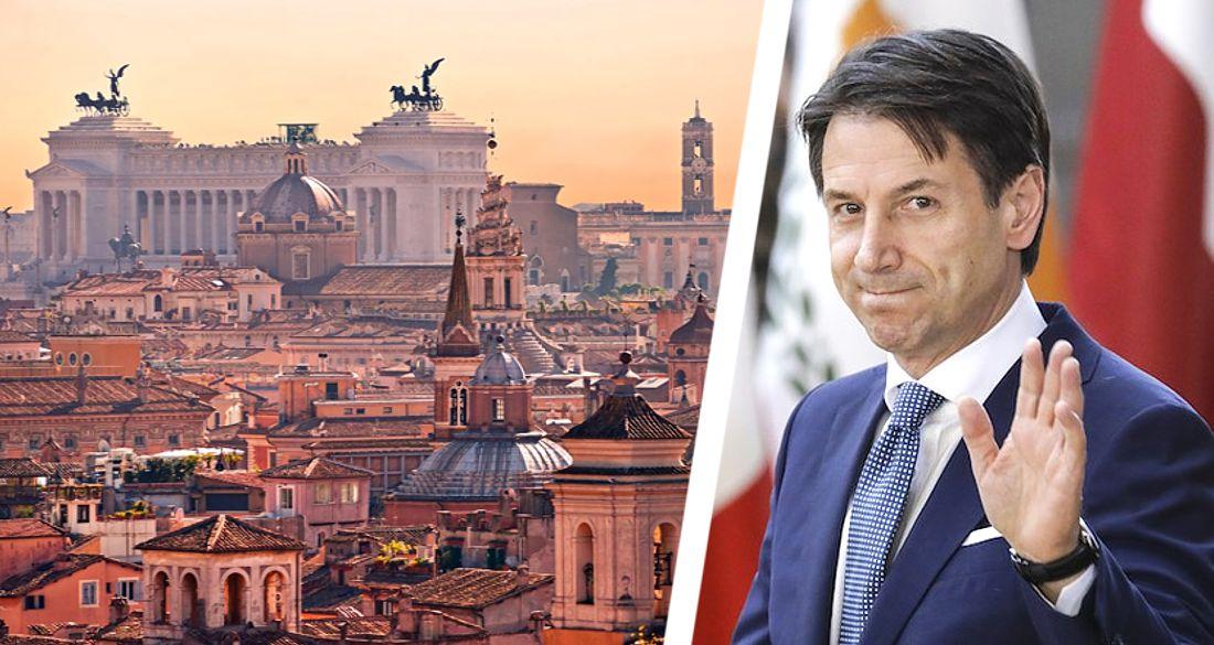 Джузеппе Конте официально «списал» летний туристический сезон-2020 в Италии
