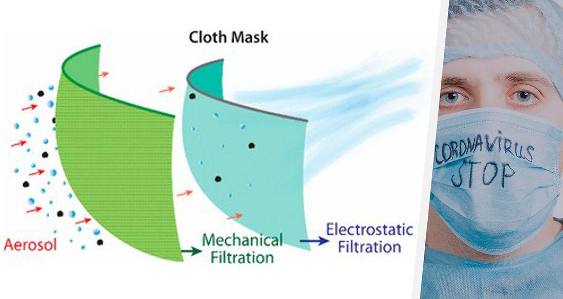 Ученые назвали самые эффективные ткани для самодельных масок против коронавируса