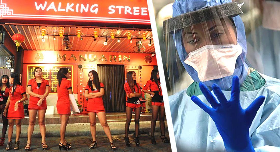 Секс туризм Таиланда в нокауте: 300 000 проституток остались без работы, ВВП королевства потерял 10%